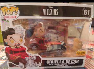 Funko Disney Villans Cruella in Car for Sale in Philadelphia, PA