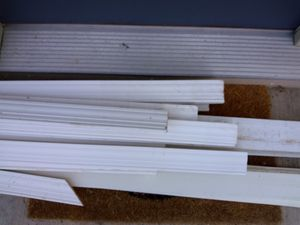 Baseboard and other moulding. Will take to dump on Saturday. for Sale in Hublersburg, PA