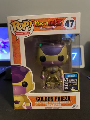 Funko POP! Golden Frieza 2015 exclusive (DragonBall Z) for Sale in Houston, TX