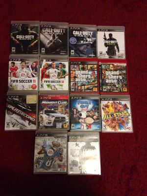 PS3 Games 🕹 for Sale in Hyattsville, MD