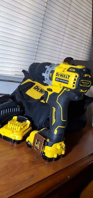 "DeWalt Dewalt 12v. XTREME Hammer Drive Drill with tool Bag, 2 Batteries and Charger ""NEW"" for Sale in Rosemead, CA"