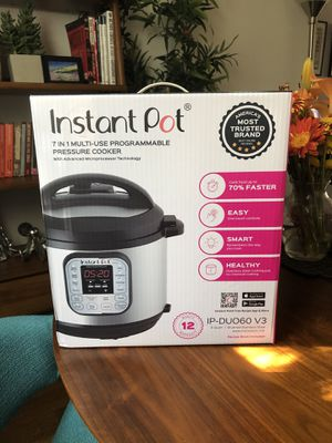 Instant Pot IP-DUO60 321, 6-QT for Sale in Los Angeles, CA