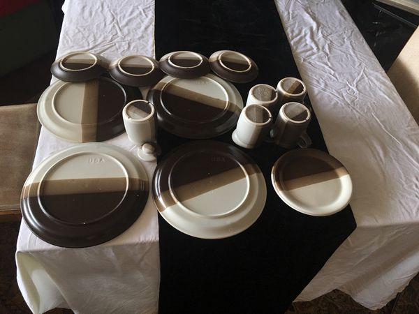 15 pcs Vintage McCoy Dinnerware