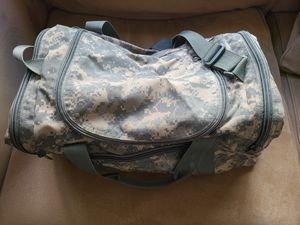 Camouflage duffle bag for Sale in San Diego, CA
