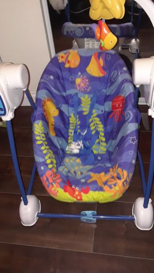 2 baby swings for 1 price for Sale in San Diego, CA