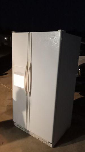 Whirlpool side by side refrigerator for Sale in Hudson, FL