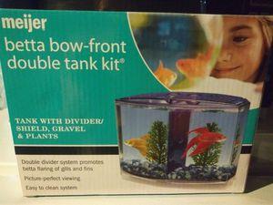 Betta Bow-Front Double Tank Kit for Sale in Detroit, MI
