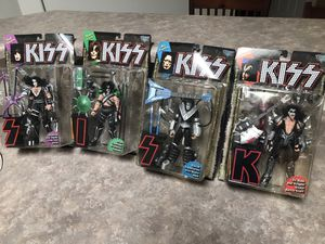 KISS action figures - collectors items. Boxes never opened! for Sale in Chandler, AZ