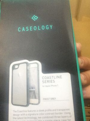 iPhone 7 Caseology Coastline Frost Grey for Sale in Poway, CA