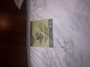 Barely used Serta Balance Deluxe Firm Crib Mattress for Sale in Portland, OR