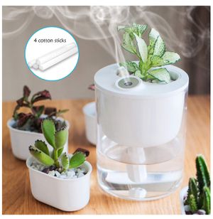 Desk Humidifier, USB Cool Mist Humidifier Whisper-Quiet Operation /4 Hours Timed Auto Shut-Off and Night Light Function, Small Humidifier for Bedroom for Sale in Huntington Park, CA