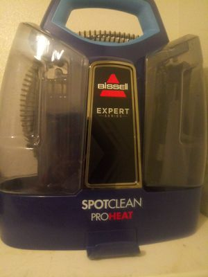 Bissell expert series spotclean proheat portable carpet shampooer for Sale in Sandy, UT