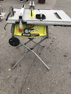 "Ryobi table saw 10"" for Sale in North Las Vegas, NV"