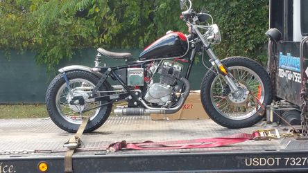1985 Honda Rebel CMX250 Bobber Custom Parts Extra Motor And Forks Lots Of Spare Parts Runs Good Just Needs Finishing. To Much To List On Parts. for Sale in Remington,  VA