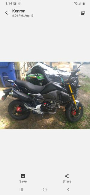 2020 Venom Has Electrical issues Asking $1200.00 Only been Road 5 times has 212 miles Clean Title Made in China for Sale in Cleveland, OH
