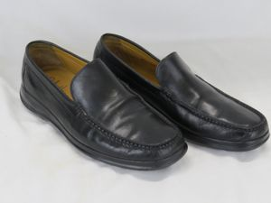 Cole Haan Nike Air Men's Black Leather Slip On Driving Shoes Size 10.5 C08094 for Sale in Wall Township, NJ