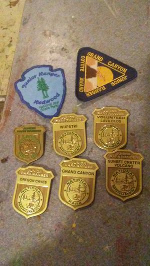 Junior park ranger badges for Sale in Aberdeen, WA