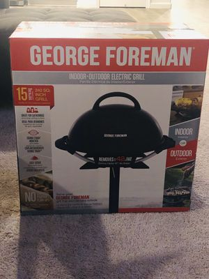 Brand new george foreman indoor/outdoor grill for Sale in Roseville, CA
