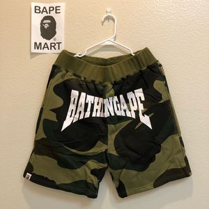 Bape bathing ape shorts camo (fits like medium/large) for Sale in San Fernando, CA