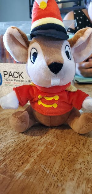 "Walt Disneyland Resort Timothy Q Mouse Plush Stuffed Animal Toy 6"" for Sale in Las Vegas, NV"