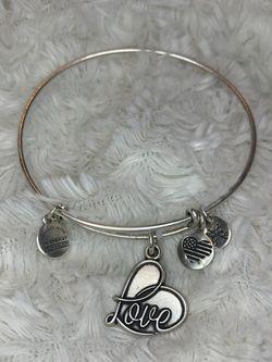 """""""Love"""" alex and ani bracelet for Sale in Ashburn,  VA"""