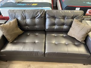 Bonded leather sofa and loveseat for Sale in Washington, DC