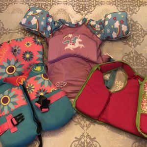 Life Vests/Floatie For Child, Kid, Girl for Sale in Dunwoody, GA
