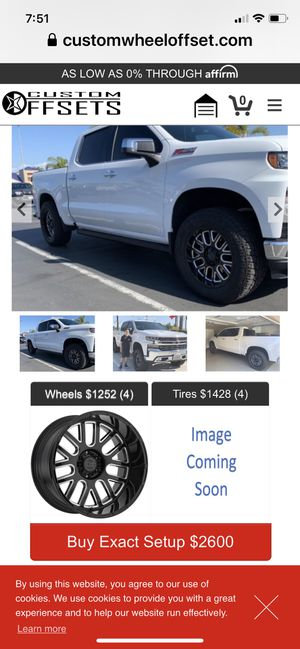 "Rims and tires .33""/9/20 for Sale in Santee, CA"