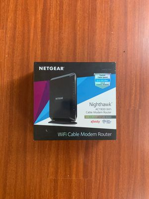 Netgear docsis 3.0 cable modem & router. for Sale in Hendersonville, TN