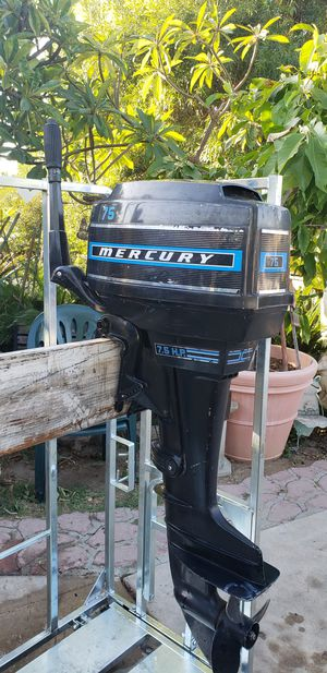 Mercury outboard 7.5 horsepower for Sale in Fullerton, CA