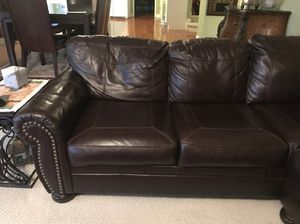 New lather sectional couch for Sale in Nashville, TN