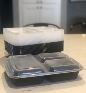Meal prep storage containers for Sale in Modesto, CA