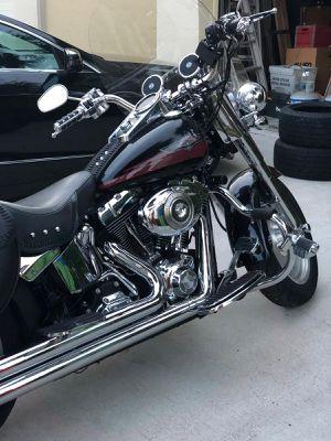 HARLEY DAVIDSOM 2007 FATBOY/ very good motorcycles for Sale in Pompano Beach, FL