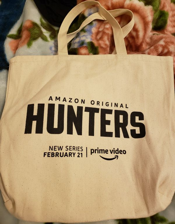 Amazon Prime Hunters tote bag