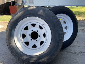 Used trailer tires and rims for Sale in Vista, CA