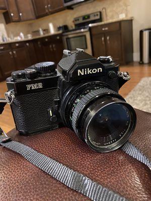Nikon FM2 35mm Camera. Nikon EM camera KIT for Sale in Gallatin, TN