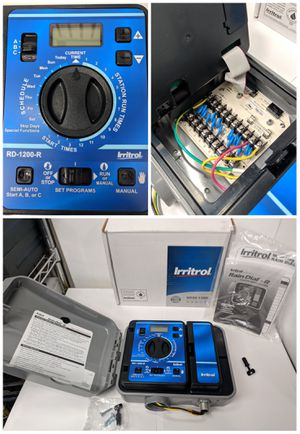 Irritrol 12 Station Rain Dial R Sprinkler System Controller RD1200 for Sale in Los Angeles, CA