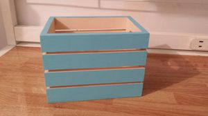 Preety Blue Wooden Baskets for Sale in Queens, NY