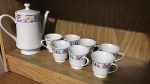 Tea pot and cups for Sale in Arlington, VA