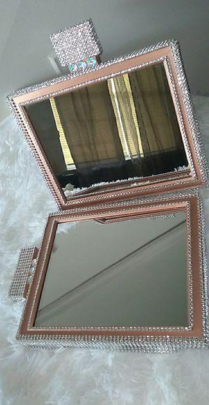 Perfume Bottle Mirror set for Sale in Valley Grande, AL