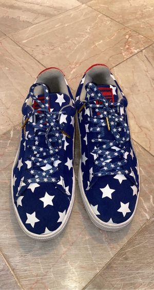 American flag Puma shoe size10 for Sale in Gaithersburg, MD