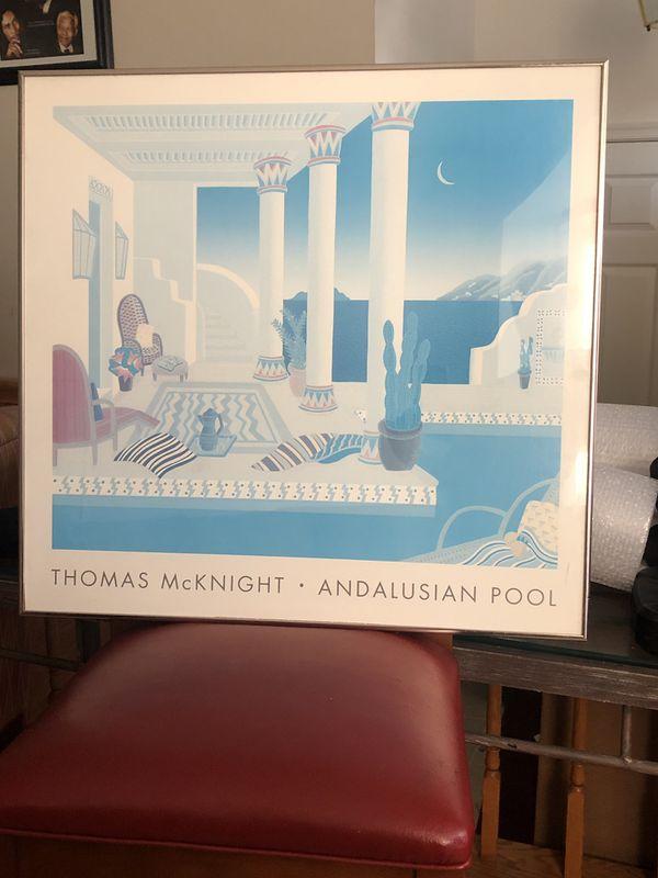 Andalusian Pool, Thomas McKnight