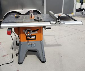 RIDGID R412 13 Amp 10 in. Table Saw for Sale in Cypress, TX