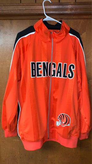 Mitchell & Ness Throwback Bengals Jackets for Sale in Worthington, OH