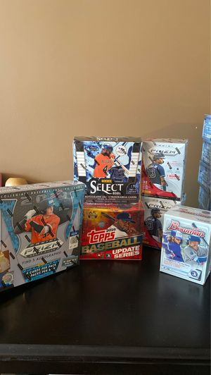 Sealed Baseball Boxes for Sale in Raleigh, NC