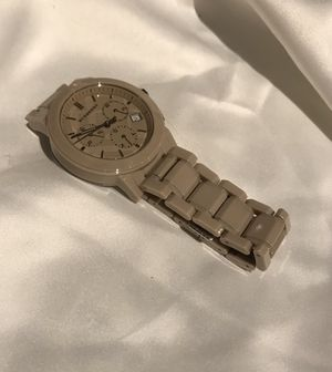 Burberry unisex swiss chronograph watch for Sale in Seattle, WA