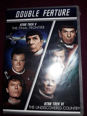 STAR TREK DOUBLE FEATURE DVD SET for Sale in Redford Charter Township, MI