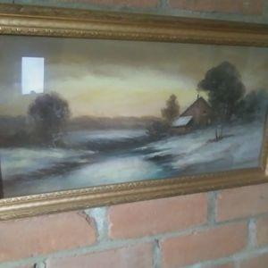 1920s Pastel Country Scene for Sale in Alexandria, VA