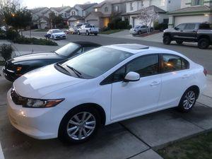 2012 Honda Civic EX for Sale in Sacramento, CA