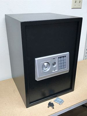 "Brand New $80 Large 14""x14""x20"" Digital Security Safe Box Electric Keypad Lock w/ Master Key for Sale in Downey, CA"